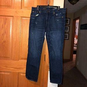J Crew Broken In Boyfriend Jeans sz 29